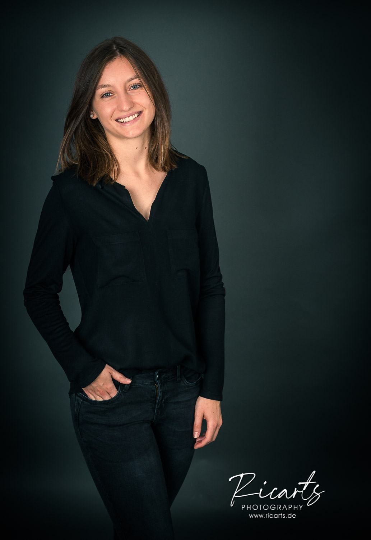 Bewerbungsfoto junge Frau