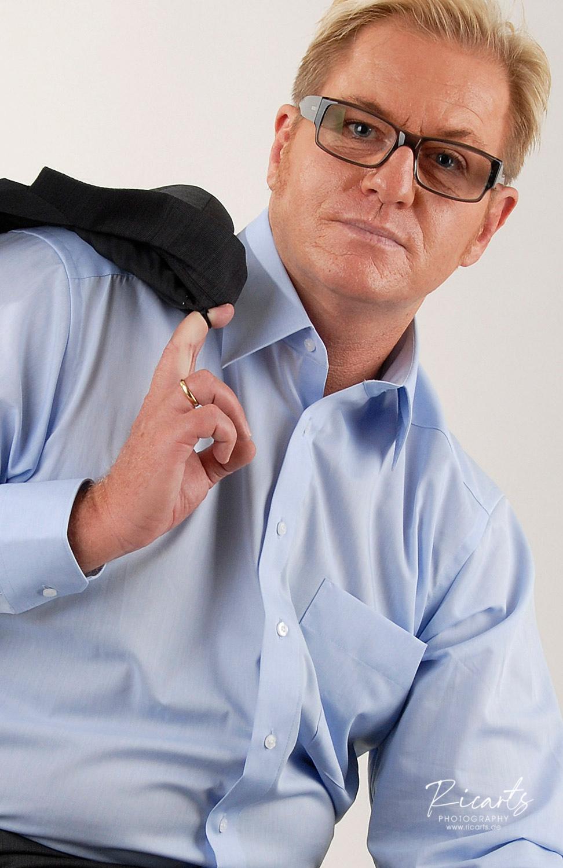 Business-Portrait, Mann