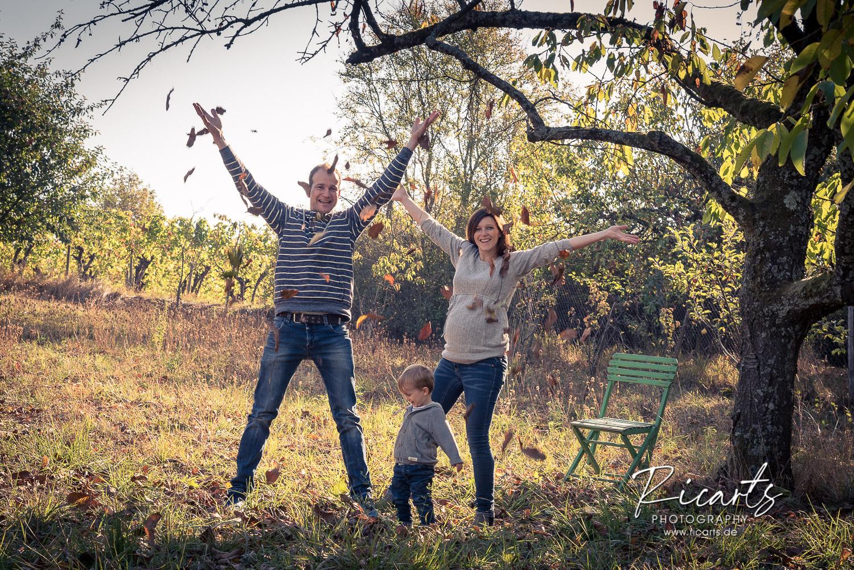 Familienbild outdoor