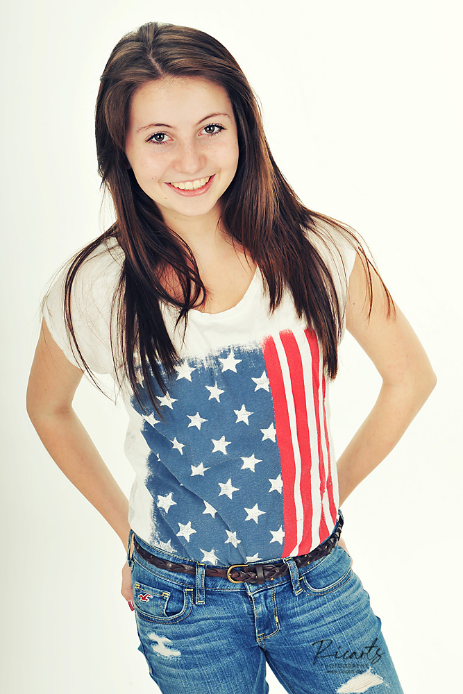 Portraitfoto Teenager Mädchen