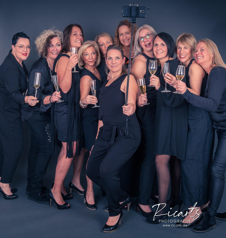 Gruppenaufnahme Frauen