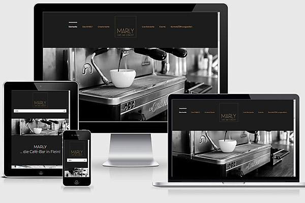 Visuelles-Kommunikationsdesign-website-cafe-marly-ansichten-Desktop-Tablet-und-Mobiltelefon