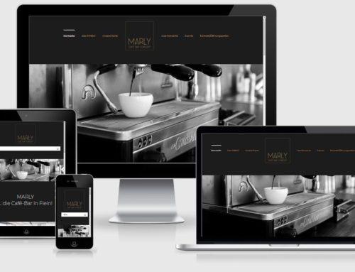 Website/Cafe Marly